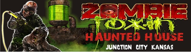 zombie toxin haunted house